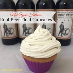 not your fathers root beer float cupcakes