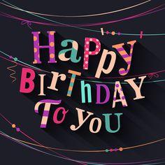 Happy birthday cards creative vector 02