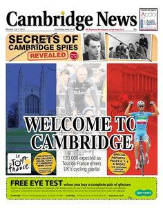 Tour de France Grand Depart: Cambridge
