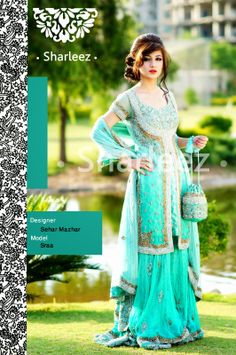 Sharleez Bridal, Fancy, Pakistani Formal Dresses for Girls 2014