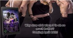 PRE-ORDER NOW! Coming April 11thShared for the First Time: A Paranormal Ménage Romance Boxset  Romance Rebels Publishing  Theres a first time for everything Indulge in an exclusive collection of BRAND NEW paranormal ménage romance stories from 9 best-selling authors. Each story takes you on a journey into unknown territory when the characters find themselves in a ménage situation. The thrill of fun and games takes a wayward turn when hearts are involved and the road to happily-ever-after…