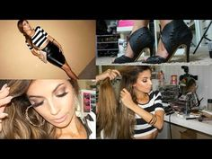 Get ready with me hair makeup outfit 2015 Makeup For Blondes, Get Ready, My Hair, Hair Makeup, Guys, Youtube, Outfits, Tall Clothing, Party Hairstyles