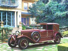 Hispano Suiza H6B 4-Door Boulogne Landau Maroon de 1922