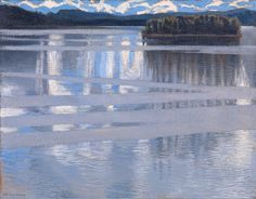 Lake Keitele - Akseli Gallen-Kallela (seen at the National Gallery, London)