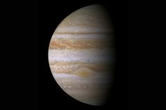 Jupiter's migration across the early solar system may have cleared the way for the oddball arrangement of planets we see in our solar system today, scientists say. This view of Jupiter was captured by NASA's Cassini spacecraft in December 2000.