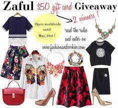 Zaful $50 gift card Giveaway
