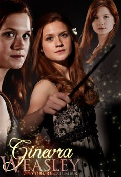 Day 15 (part 3)- Ginny Weasley would probably be my last best friend. She's so awesome and feisty in the books!