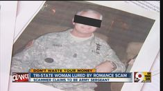 Online romance scam