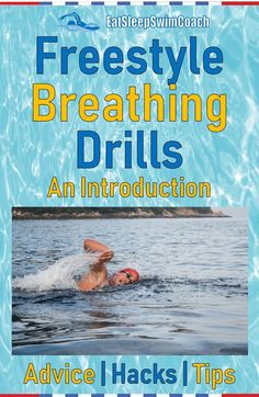 In this article, we'll provide hacks, tips and introductory drills to improve a swimmer's freestyle breathing technique. Triathlon Swimming, Swimming Drills, Swimming Tips, Olympic Swimming, Competitive Swimming, Teach Kids To Swim, Learn To Swim, Triathlon Training Program, Sprint Triathlon