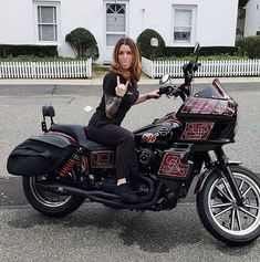 : My 2 beautiful Ladies Dyna Club Style, Female Motorcycle Riders, Thug Style, Chopper Bike, Street Bob, Harley Davidson Dyna, Lady Biker, Cool Bikes, Beautiful Ladies