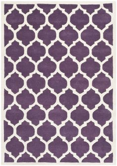 Safavieh CHT734F Chatham Collection Wool Area Rug, 5 by 8-Feet, Purple/Ivory: Amazon.ca: Home & Kitchen