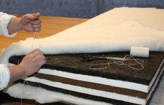 Výroba přirodní matrace