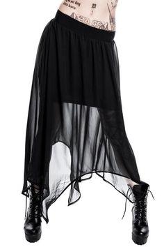 Rayne Mesh Maxi Skirt [B]