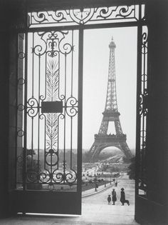 Sally Gall 'The Eiffel Tower from the Trocadero'