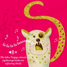 Singing cat illustration | Design: www.pinkelephant.pl /layout /portfolio /design /illustration /Illustrator