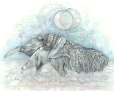 The Universe Is A Giant Anteater  by Brettisagirl. Idk what this is exactly, but I like it!!