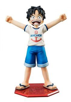Estatua Monkey D Luffy 12 cm. One Piece. Escala 1/8. Línea Excellent Model Mild P.O.P CB-1R. Megahouse Para tu colección aquí tienes esta fantástica estatua de Monkey D Luffy de 12 cm, fabricada en PVC del manga/anime One Piece, de la línea Excellent Model Mild P.O.P CB-1R y 100% oficial y licenciada.