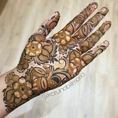The bridal Mehndi is in true sense an announcement accent and you must entirel.