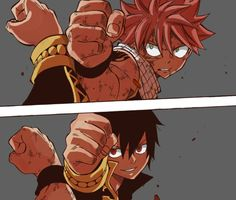 fairy tail zeref and natsu | Tumblr