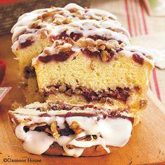 Gooseberry Patch Recipes: Cranberry-Pecan Coffee Cakes