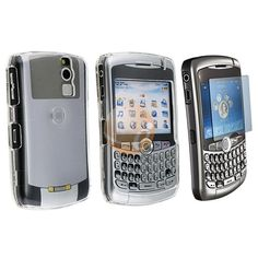 2 SCREEN PROTECTOR+CLEAR CASE FOR BLACKBERRY 8300 CURVE $0.05