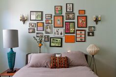 wall color and art