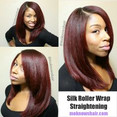 Moknowshair Straight Hair The Healthy Way Also I Like This Color Afro Hairstyles