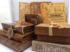 The Paper Addiction - latest vintage journals