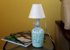 Rustic Bedside Table Light Bedroom Light Romantic Night Light Glass Table Lamp Bottle Lamp