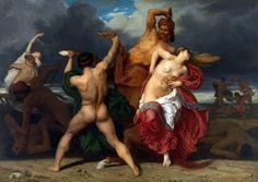 William Adolphe Bouguereau, 1852, μάχη μεταξύ Κενταύρων και Λαπήθων