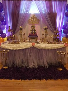 Sofia the First birthday party! See more party ideas at CatchMyParty.com!
