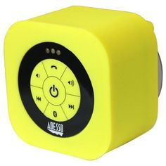 Adesso Xtream Xtream(TM) Waterproof Bluetooth(R) Speaker (Yellow) Stereo Speakers, Bluetooth Speakers, Hands Free Phone, Waterproof Bluetooth Speaker, Audio Sound, Speaker System, Lead Acid Battery, Retail Packaging, Samsung Galaxy