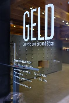 "Stapferhaus Lenzburg ""Geld"" - photography - places Ⓒ PASTELPIX"
