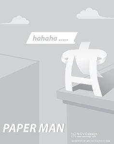 N O V O design :: paperman