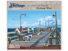 Fishing Pier Puzzle - William Mangum Fine Art