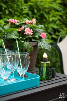 Summer entertaining tips by In My Own Style
