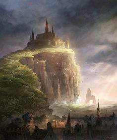 This is the painting used for the cover of DemonWars: Reformation. I love the dreaminess of the light.