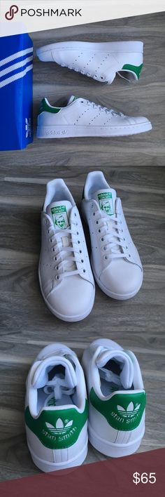 Adidas Stan smith 7 nwt last one Adidas Stan smith 5.5 youth which converts to women 7 nwt. Super cute. Brand new. Will come with box. adidas Shoes Sneakers