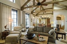 French-Moroccan Mediterranean Home