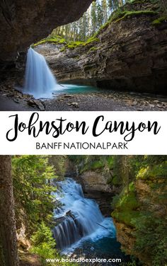 Johnston Canyon is one of the best places to visit in Banff National Park. Read our post for travel tips for this photographic place. Including parking tips, what time of day to visit, trail report, and how to get to the secret cave. Canada Destinations, California Destinations, Vacation Destinations, Vacations, Johnston Canyon Banff, Canadian Travel, Canadian Rockies, Parks Canada, Canada Trip
