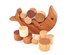 Wooden Balancing Toy - Eco-friendly Wood Game - Montessori Wood Balance And…