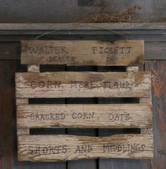 Sign we made~Sweet Liberty Homestead