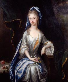 Portrait of a Lady by James Francois Maubert,c. 1710