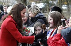La Duquesa de Cambridge: 'Tenemos ya una lista de nombres para niño y niña'.