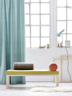 Upholstery fabrics, wool collection by Création Baumann. CAVALLO GIORGIO, CAVALLO KARO and CAVALLO LINEA