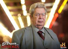 """Richard Harrison, """"El Viejo"""". El Precio de la Historia, todos los Domingos a las 9PM MEX - COL / 9.30PM VEN / 10PM CHI / 11PM ARG"""