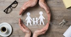 [ Close Up Of Female And Male Hands Protecting A Paper Chain Family. Top View Of Two Hands Form A Circle Around White Paper Chain Family On Wooden Table. Family Care, Insurance And Helping Hand Concept. Youth Group Lessons, Paper Chains, Divorce Lawyers, Male Hands, Helping Hands, Home Ownership, Unity, Web Design, Concept