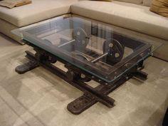Interesting industrial home decor ideas / #furniture