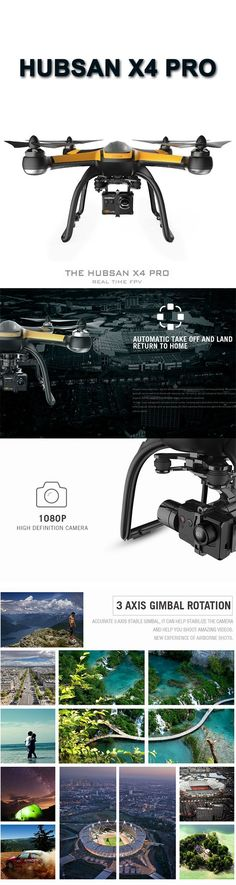 1160 best Drones images on Pinterest   Aerial photography  Aerial     The Hubsan X4 Pro Quadcopter  The X4 Pro High edition is in incredible  piece of technology from Hubsan  I wasn t sure exactly how much the 3 axis  gimbal