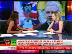 GAP's Jesselyn Radack appears on RT once again to talk WikiLeaks founder Julian Assange and his bid for political asylum.